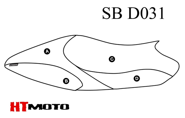 - DUCATI MONSTER 696-796-1100 (09-12) Seat Cover #SB-D031