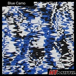 Cut Diamond Groove - Blue Camo