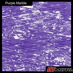 Cut Diamond Groove - Purple Marble
