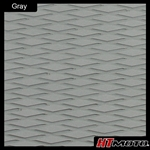 Cut Diamond Groove - Gray