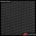 Molded Diamond Groove - Black