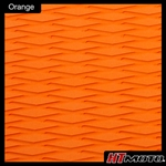 Cut Diamond Groove - Orange