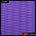 Cut Diamond Groove - Purple
