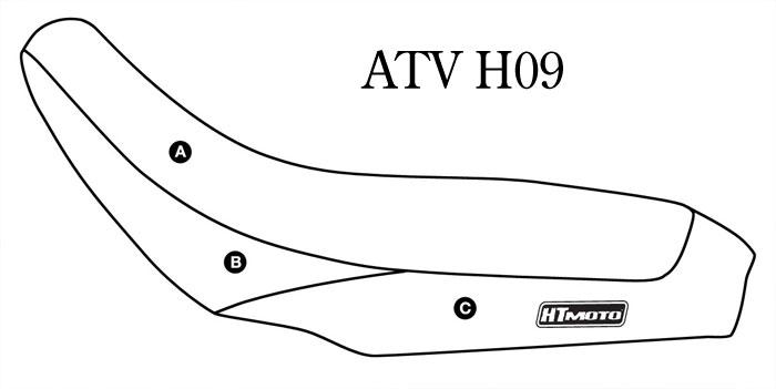 - HONDA TRX 450 R (06-08) Seat Cover #ATV-H09