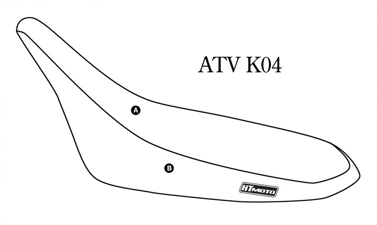 - KAWASAKI KFX 450R (08) Seat Cover #ATV-K04