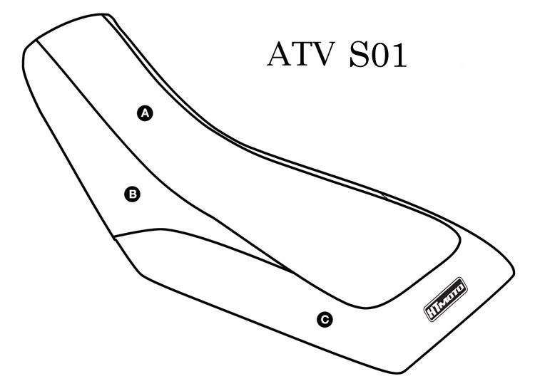 - SUZUKI LTZ 400 (03-07) Seat Cover #ATV-S01