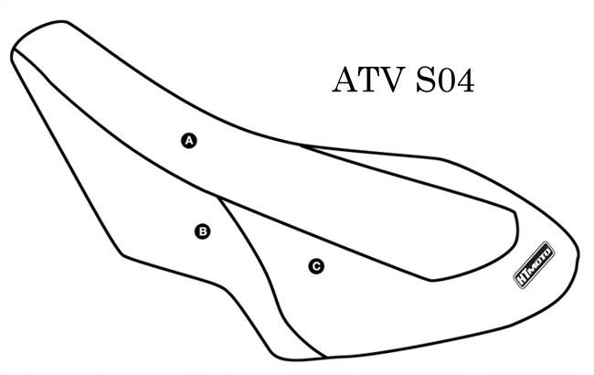 - SUZUKI LTR 450 (08) Seat Cover #ATV-S04