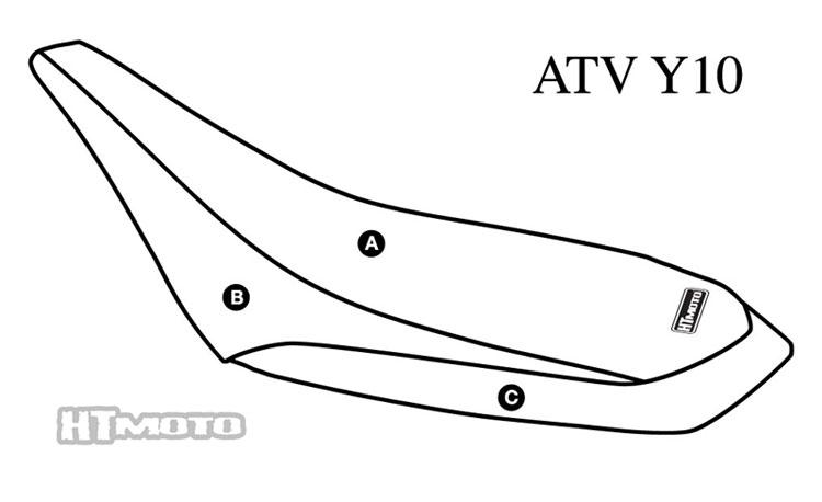 - YAMAHA YFZ 450 (04-07) Seat Cover #ATV-Y10