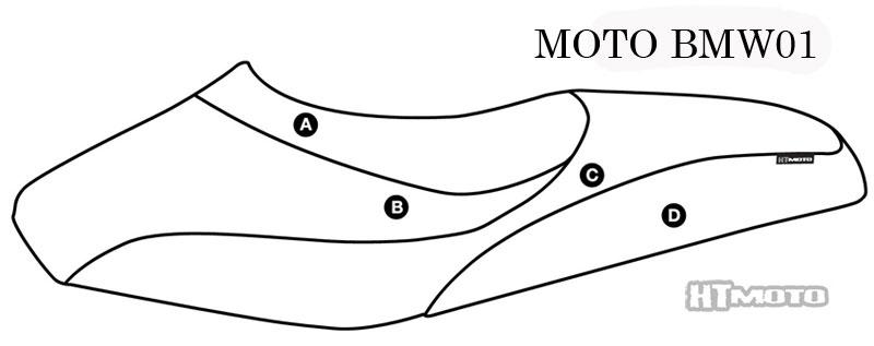 - BMW F 650 GS Dakar (00-08) Seat Cover #MOTO-BMW01